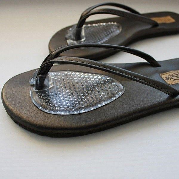 UDSOLGT! 2 stk. gel puder - specielt designet til klip klappere og sandaler - Fodpleje - Beauty & Velvære