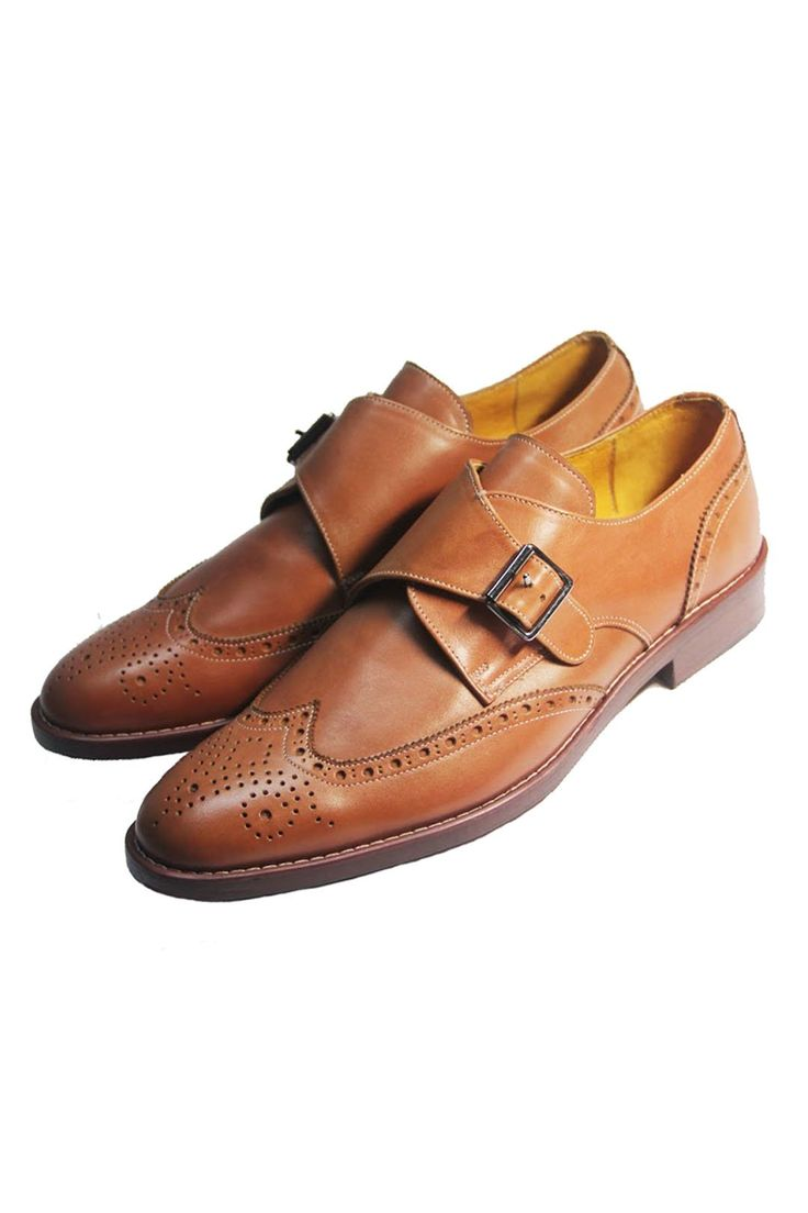 The Mantorii Single Monk - A shoe with a buckle instead of the lacing. Works great with jeans. Select from one of our certified full grain leathers and select your favourite lining and sole option. #MensWear #MensStyle #MensFashion #InStitchu