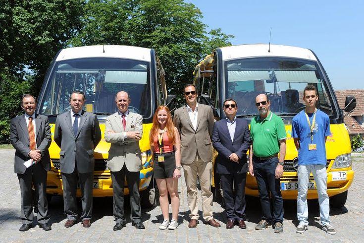 'Yellow Bus' chega a Braga