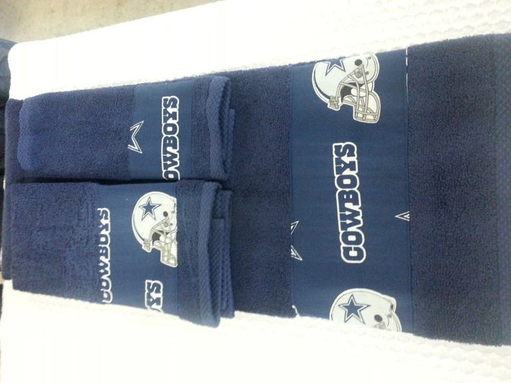Dallas Cowboys Bathroom Towel C Towel Set