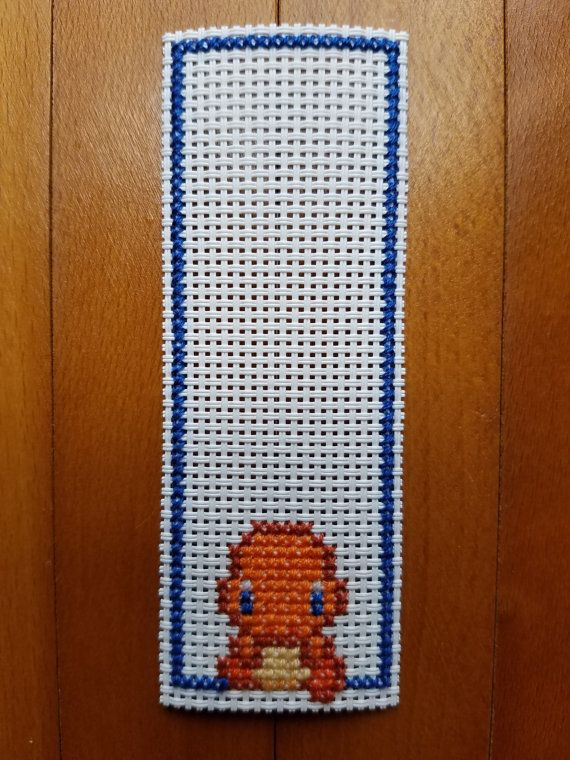 Cross Stitch Bookmarks Pokemon Charmander Evolutions