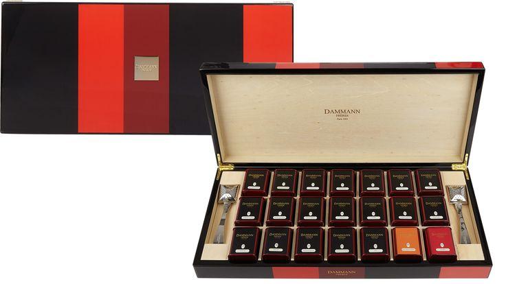 Just once in my life, because I can. :-) Dammann tea set, $290, barneys.com. - HarpersBAZAAR.com