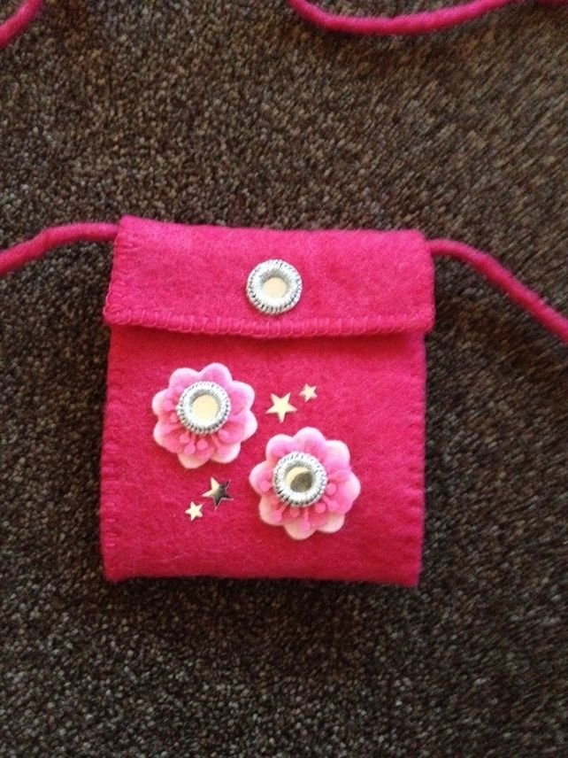 Childrens felt handbag