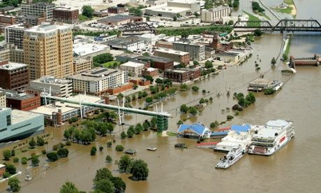 Mississippi flooding threatens US midwest as rivers swell in heavy rains