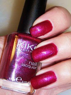 Kiko Microglitter Red Wine