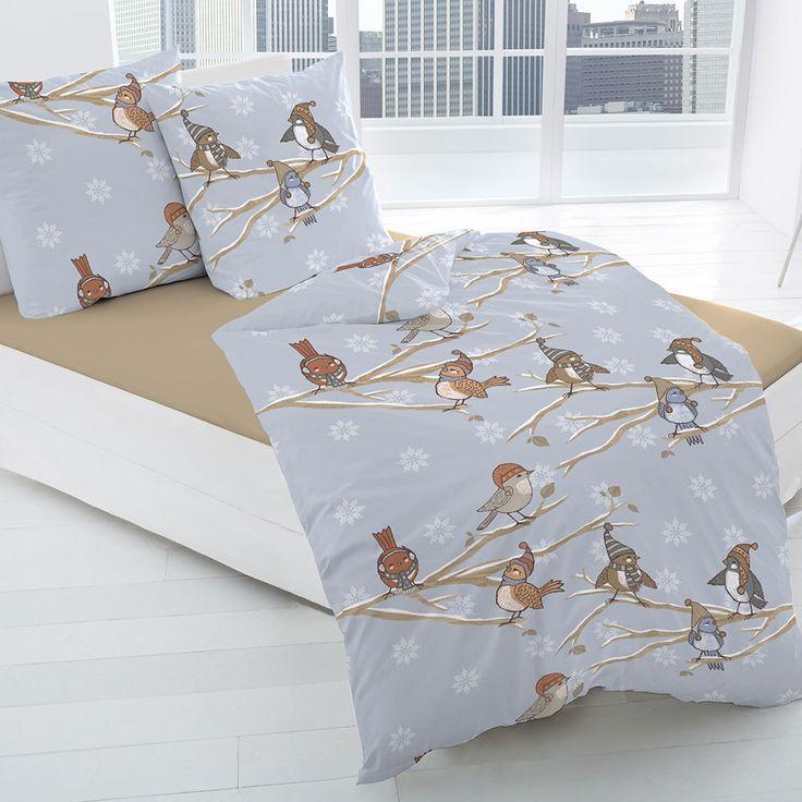 Biber Bettwäsche Vögelchen online kaufen