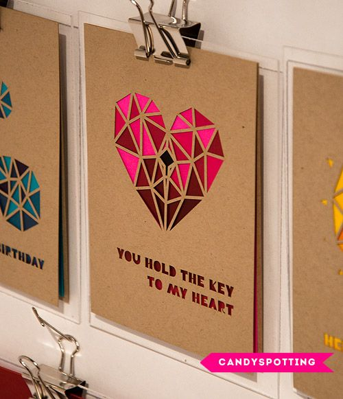 12 of our favorite BOLD beautiful paper goods from the 2013 National Stationery Show: Candy Spotting