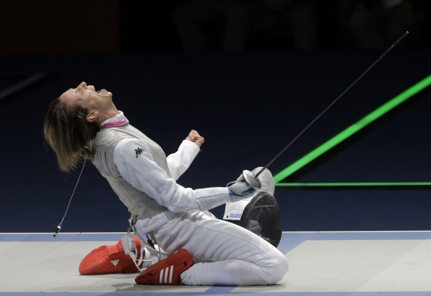 Check out all the great photo galleries from the London #Olympics:  Fencing Women (AP Photo/Dmitry Lovetsky): Fencing Fever, Olympic Sports, London Olympics, Photo Galleries, Women Ap