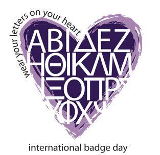International Badge Day  #panhellenic #theta1870