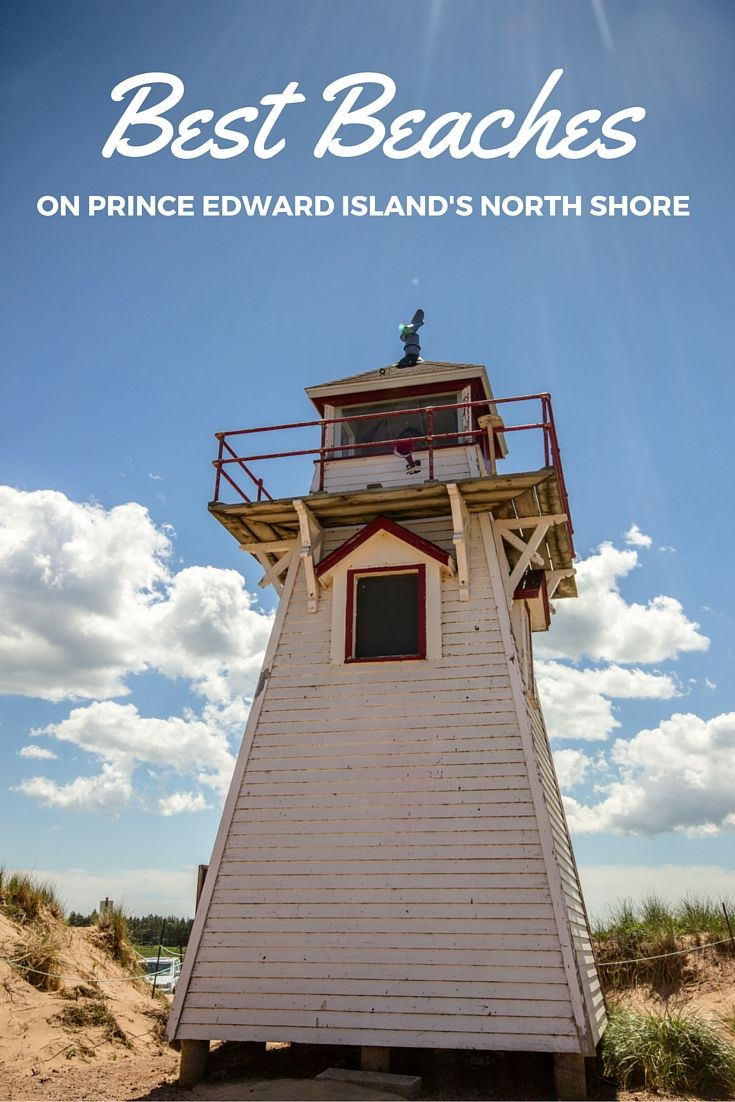 Covehead Lighthouse on Prince Edward Island. Click through to check out some of the province's best beaches! Canada   Travel