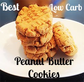 Best Low Carb Peanut Butter Cookie Recipe ~ Baking Outside the Box
