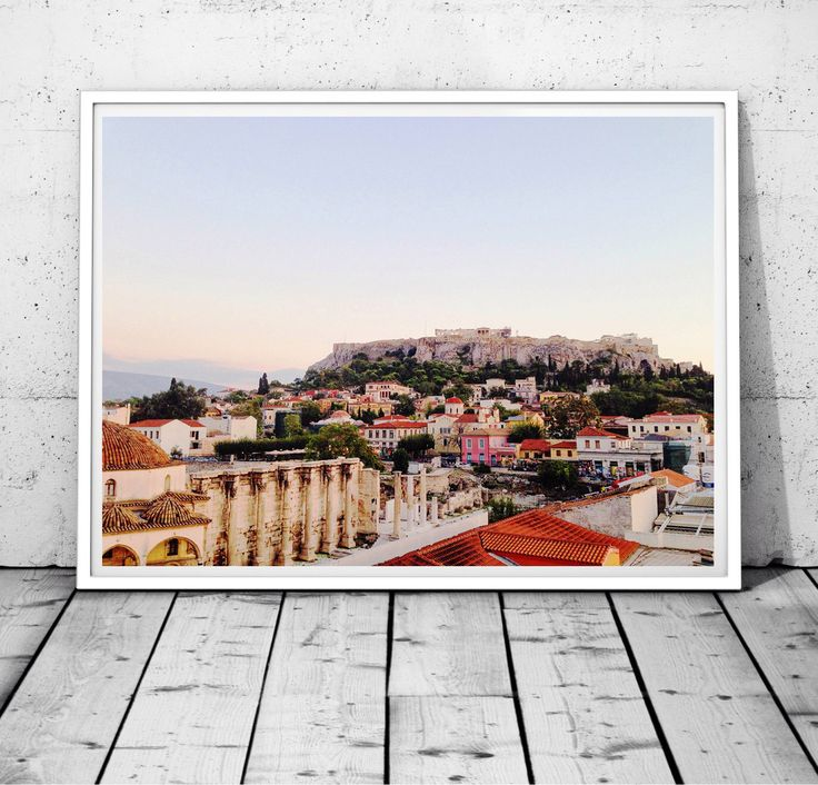 Greece Prints, Athens Print, Acropolis print, Parthenon Wall Art, Greek City wall decor, Architecture, historical print, Digital download by S4StarSbySiSSy on Etsy https://www.etsy.com/ca/listing/386495596/greece-prints-athens-print-acropolis