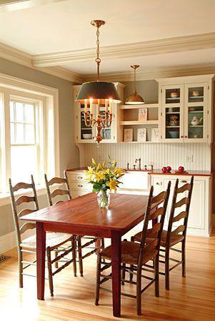 custom dining table, picture sent from client's interior desginer | ECustomFinishes.com