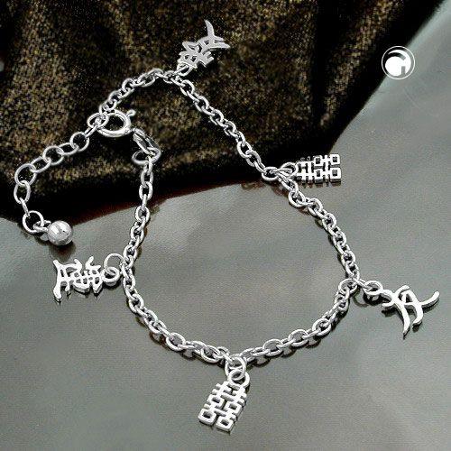 Armband ankarkedja symboler Äkta Silver
