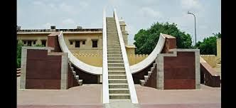 #JantarMantar : This is frequently the greatest furthermore the best protected of the 5 observatories built by Jai Singh II in a few components of the nation. This observatory comprising of curiously large galactic instruments stays being used. Night keep in Jaipur.