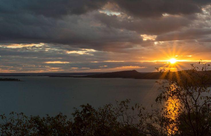 Sunset at Burdekin Dam Qld