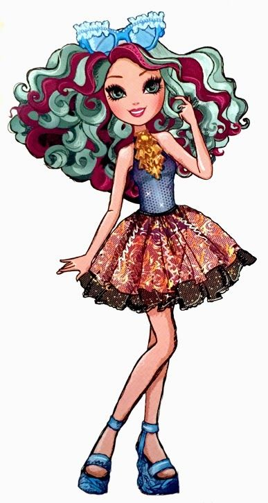 Ever After High Madeline Hatter Mirror Beach Artwork
