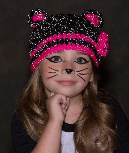 Glam Black Cat Hat