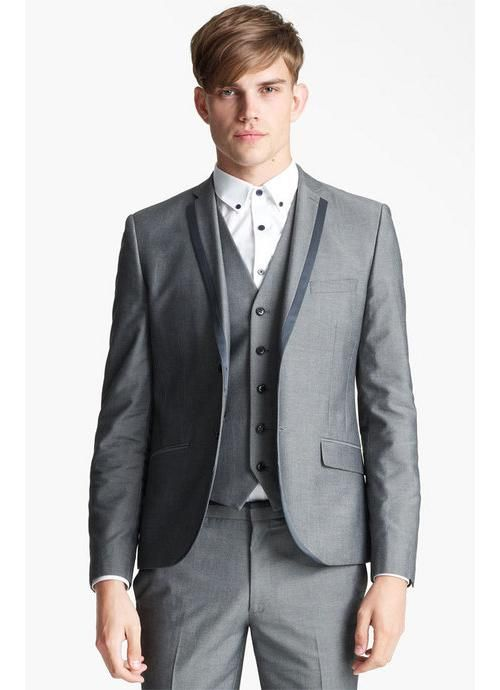 Topman 'Nottingham' Skinny Suit Jacket available at