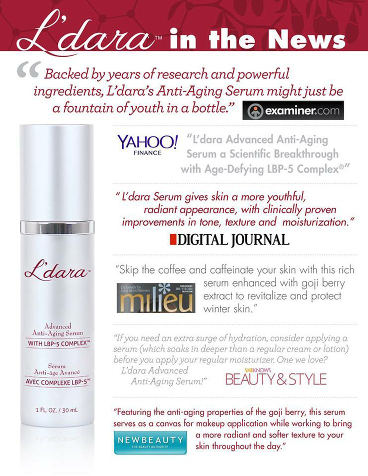 Everybody is talking about the fountain of youth in a bottle.