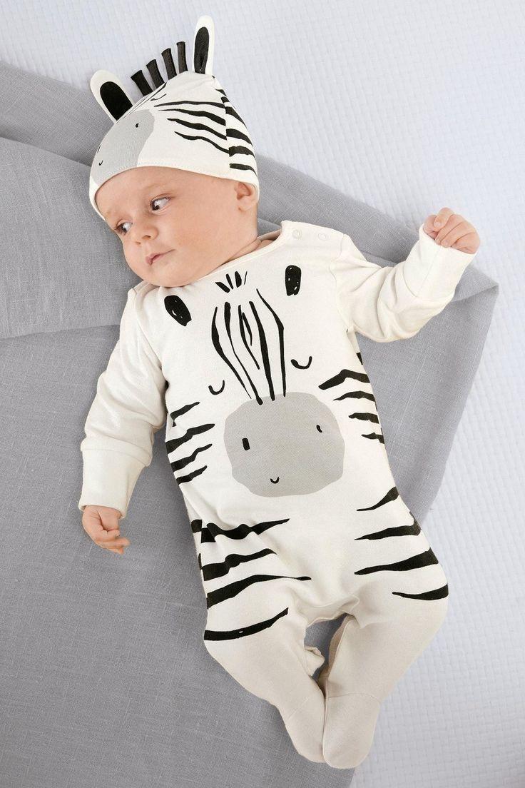 Cartoon Zebra <b>Romper</b> | Для малышей | <b>Baby outfits newborn</b>, <b>Baby</b> ...