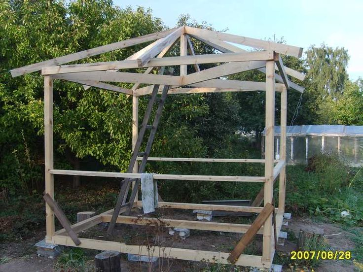 17 best ideas about gazebo en bois on pinterest gazebos - Comment fabriquer un cache poubelle en bois ...