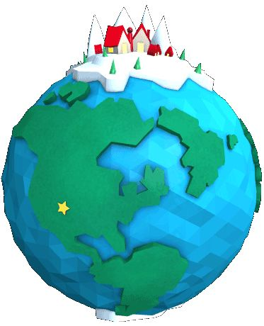 Official NORAD Santa Tracker - see where Santa is as he travels the globe (fun way to teach the kids a little geography on Christmas Eve)