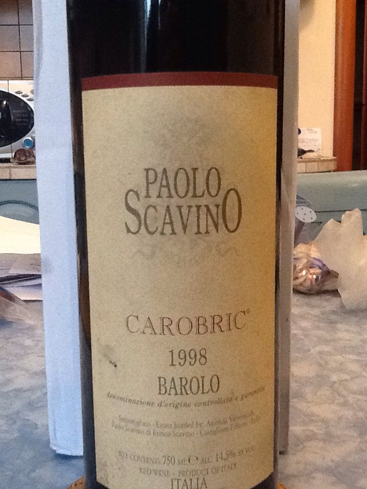 Carobric is produced by blend of three different Barolo by Paolo Scavino.