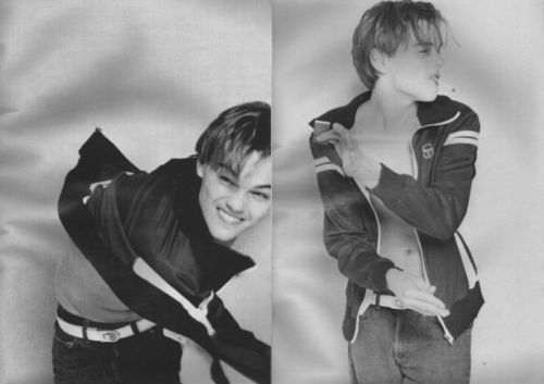 Teenage Leonardo DiCaprio