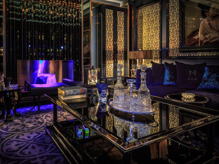 Phased refurbishment while in operation of Majid Al Futtaim's flagship hotel asset, the 5* Kempinski Hotel - Noir bar