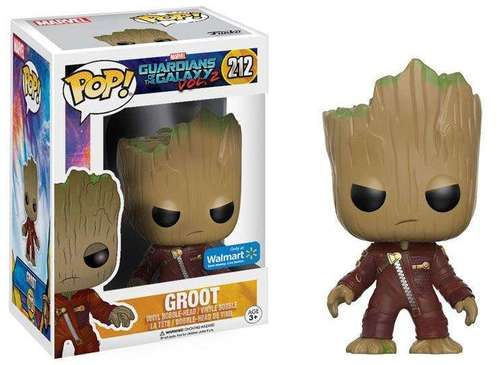 Guardians of the Galaxy Vol. 2 Funko POP! Marvel Groot Exclusive Vinyl Bobble Head #212 [Ravager Suit]