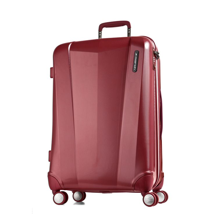 Mittelgroßer #Koffer March15 Vision bei Koffermarkt: ✓TSA-Schloss ✓Polycarbonat-Hartschale  ✓4 Rollen ✓rot  ⇒Jetzt kaufen