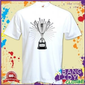 Trophy Dad Mens T Shirt Fathers Day Birthday Funny Gift Idea  Our Price: £10.97