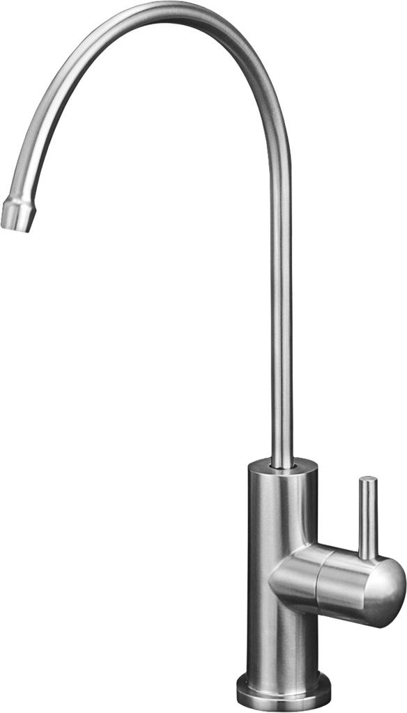 Eclipse Stainless® Llave para Sistema de Purificación Modelo F-7A.  100% Acero Inoxidable.  Eclipse Stainless® Faucet Filter System Mod. F-7A. 100% Stainless Steel.  www.eclipsestainless.com.mx