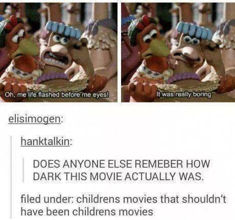 "Yea. My mom told me the background story to it n how she hated it was a kids movie n i would watch it all the time because i thought it was so weird n funny. But then my mother told me why. N now i know why the game went ""missing"". -_-"
