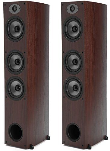 Polk Audio TSx 440T Tower Speaker – Cherry-PAIR Reviews           $ 699.90 Home Audio Speakers Product Features You Receive One Pair.TSx Series bi-laminate composite driver cones, tuned perfectly with our Dynamic Balance process, produce smooth, natural sound. They are lightweight, but super stiff, with exceptional damping, for high efficiency and low distortion. All Polk loudspeakers are timbre-matched within their series, designed with the same components […]  http://www...