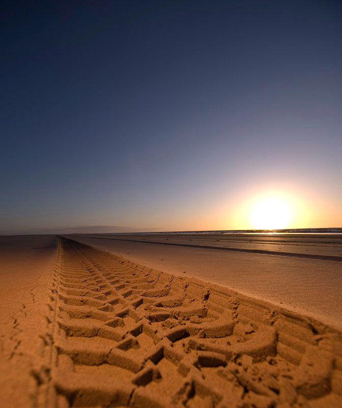 Geniet ook van het eindeloze strand op Terschelling tijdens een van onze strandritten