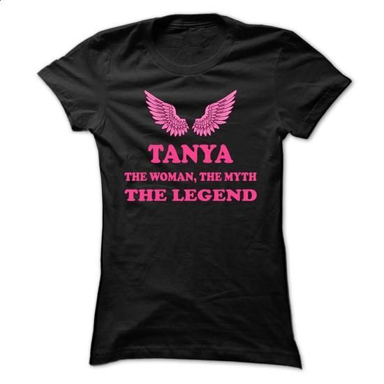 TANYA, the woman, the myth, the legend - #lace shirt #tshirt projects. GET YOURS => https://www.sunfrog.com/Names/TANYA-the-woman-the-myth-the-legend-otwanbhgcb-Ladies.html?68278