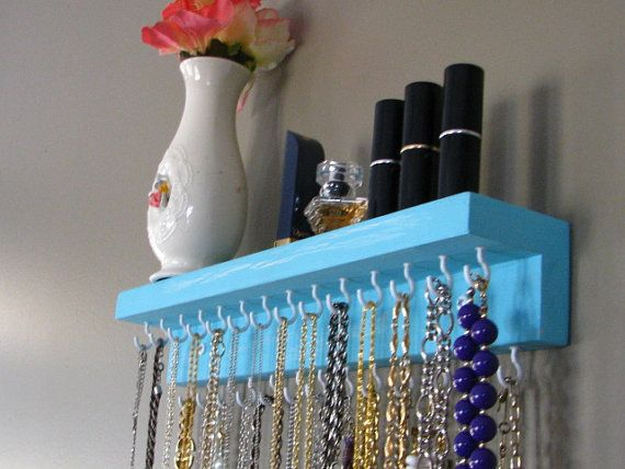 Jewelry Storage - Love this! Paint edge front with custom lettering??