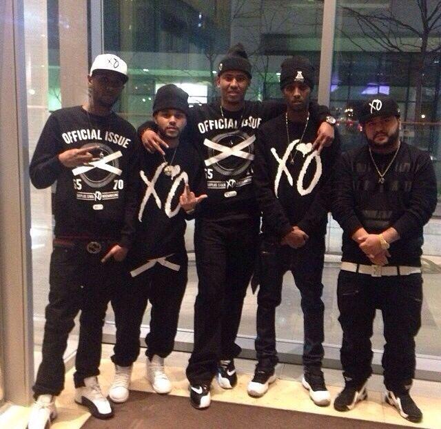✦ Pinterest: @Lollipopornstar ✦ The Weeknd   Abel Tesfaye   XO Crew   XO Clothing