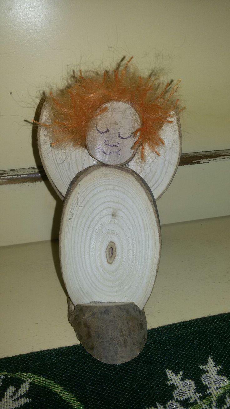 Angioletto in legno di Frassino