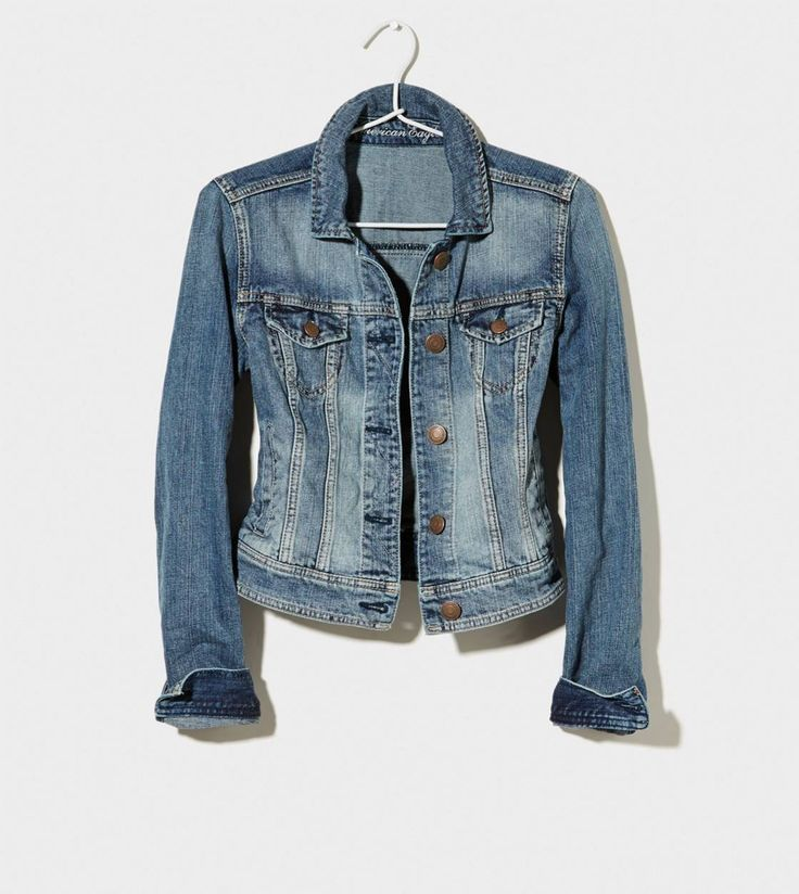 Did you pick up a Faded #DenimJacket for Fall yet? #PTCtrends