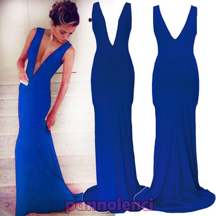 Vestito blu elettrico h&m home store