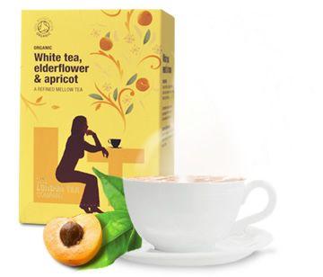 Nya téer hos vitavera.se -The London Tea Company skapar ekologiskt te med schyssta villkor till odlarna. Denna med vitt te, fläder och aprikos är vår nya favorit!
