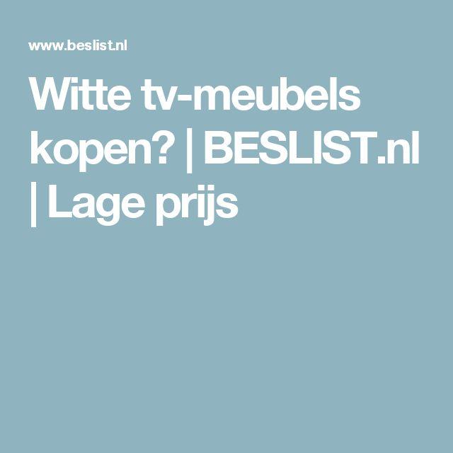 Witte tv-meubels kopen? | BESLIST.nl | Lage prijs