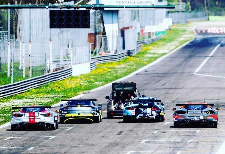 And that's how it's done... - New 2017 season at Monza Prologue #Endurance Racing  Welcome to my office... - #officialphotographer #oftenimitatedneverduplicated #adrenalstyle #travel #wander #wanderlust #fujifilm_xseries #travelshooteditrepeat #lifeasaphotographer #photographer #endurance #adrenalmedia #xphotographer #xphotographers #automotive #racetrack #racecar #style #race #racing #motorsport #traveller #photography #lifestyle #fujiholics  #fiawec #fia - Photo:  John…
