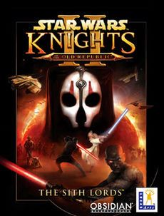 Star Wars: Knights of the Old Republic II: The Sith Lords, this is a good game, it would have been great if they finished it.
