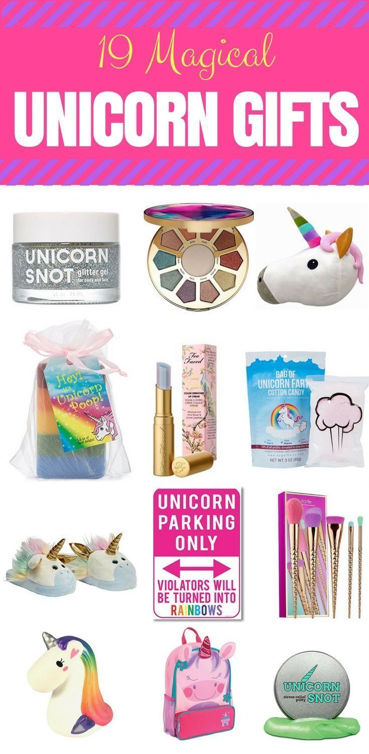 Unicorn Gifts Girls Love Looking For Unique Want Christmas Or A Special Birthday Check Out This Awesome List Of Gift Ideas Thats