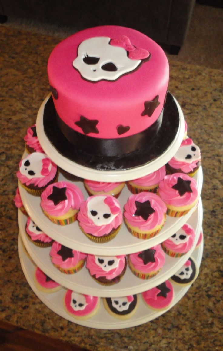 84 best monster high cakes images on pinterest sew birthday