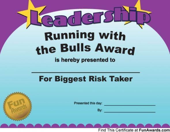 running certificates templates free - award running with the bulls award cruise 2015